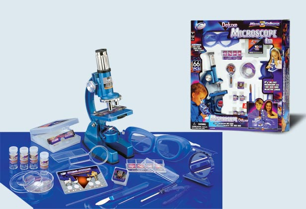 Микроскоп(100х...1200х)+очки+наб.принадлежностей