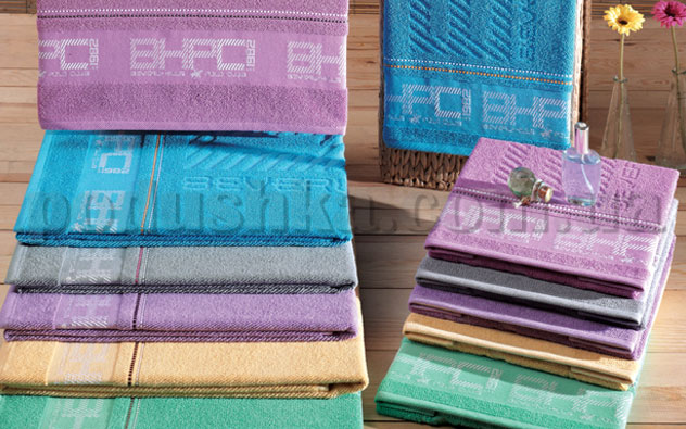 Набор махровых полотенец BHPC 603