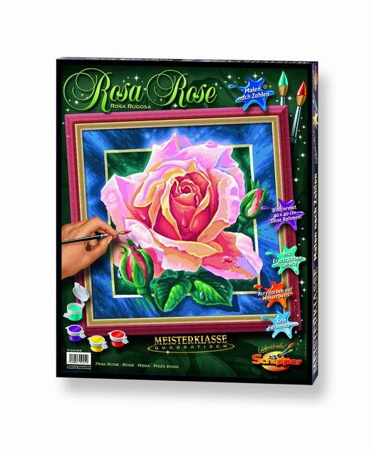 Художественный творческий набор Роза