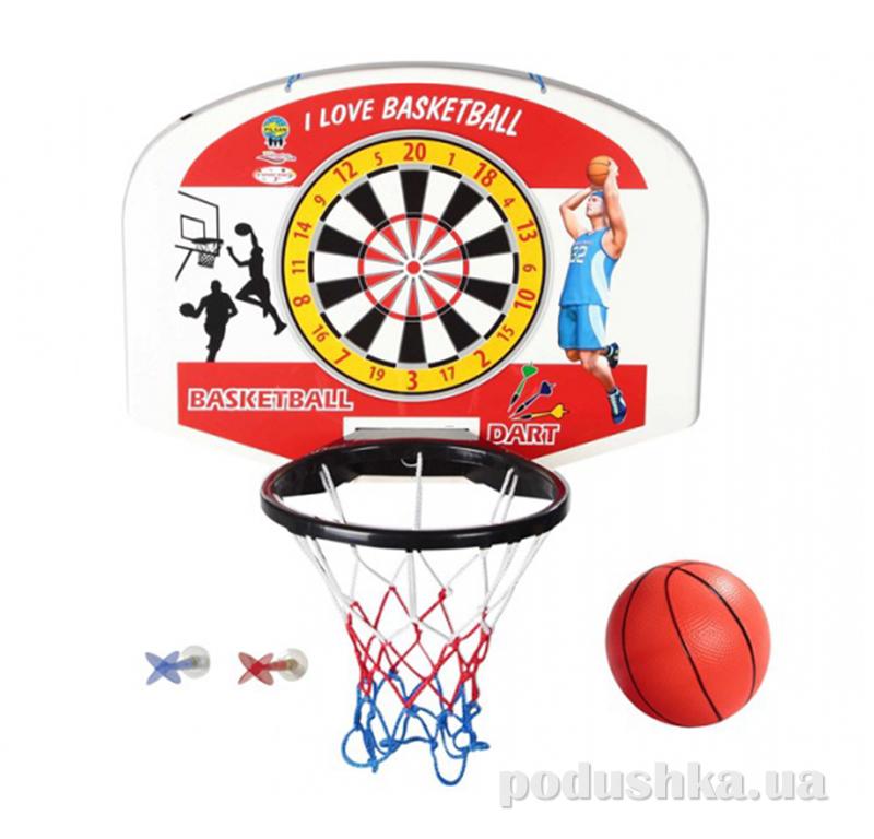 Дарт с баскетбольным кольцом Pilsan 07-505 03-400