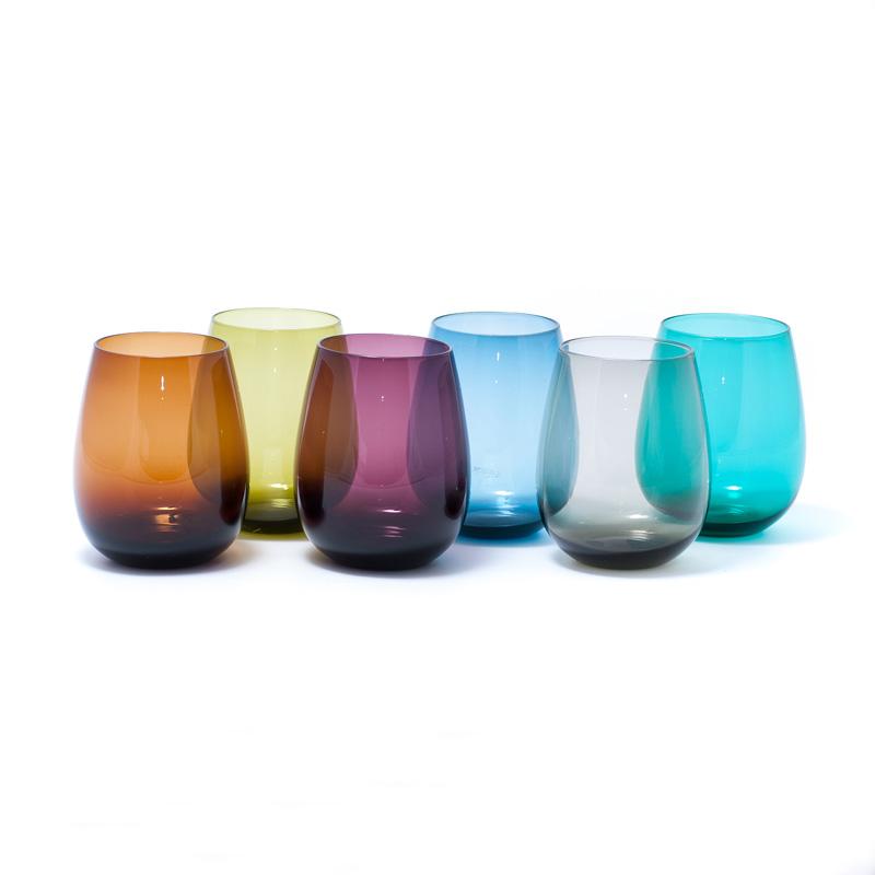 Набор стаканов для воды Villa d'Este 350 мл, 6 шт 241024-MIX