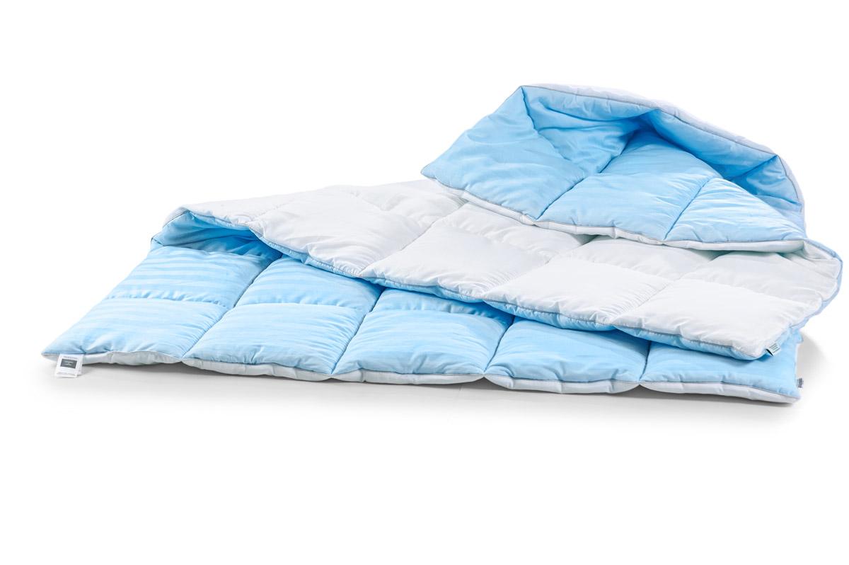 Одеяло антиаллергенное EcoSilk Valentino Зима Чехол сатин+микро 007 зимнее 140х205 см вес 1600 MirSon