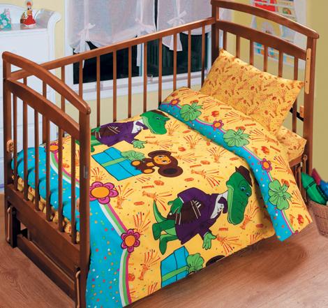 Постельное белье в кроватку День рождения Гены