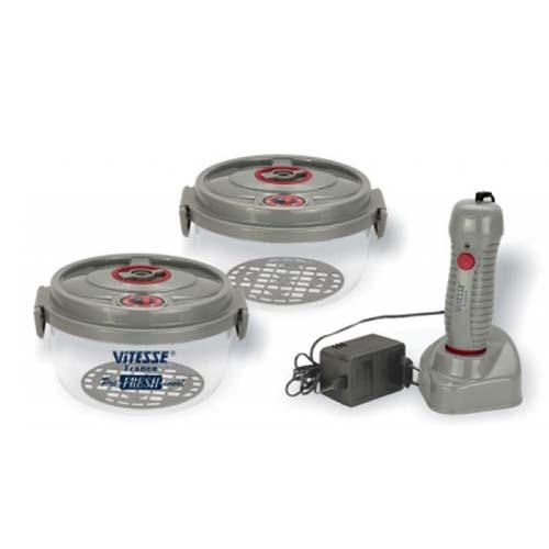 Профессиональные вакуумные контейнеры с вакуумным насосом Vitesse VS-1843 (Aisha)