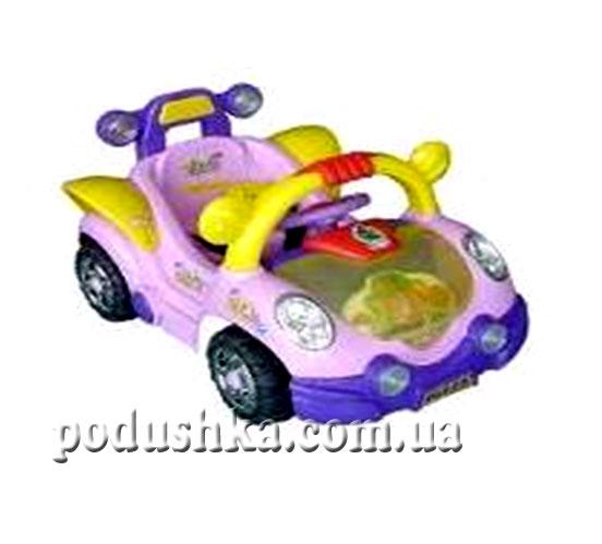 Электромобиль Xiamen, цвет розовый, В09В-XM