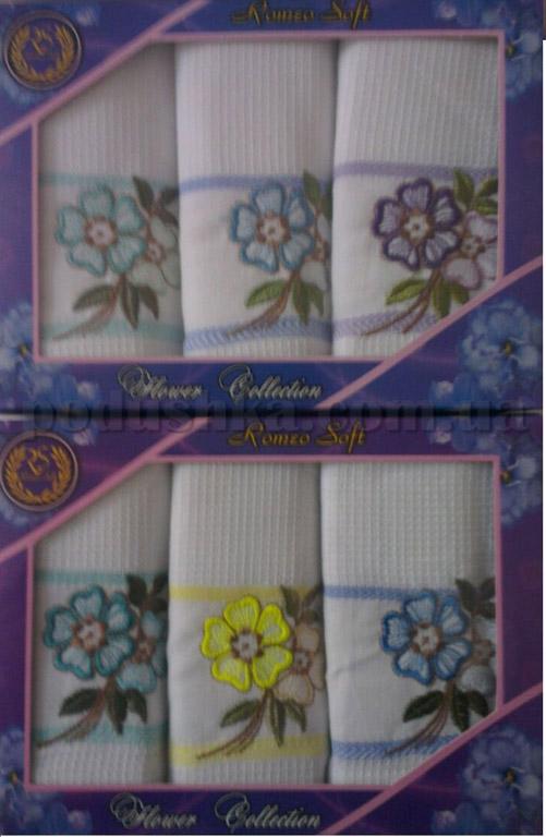 Набор полотенец Romeo soft Flower Collection 3шт