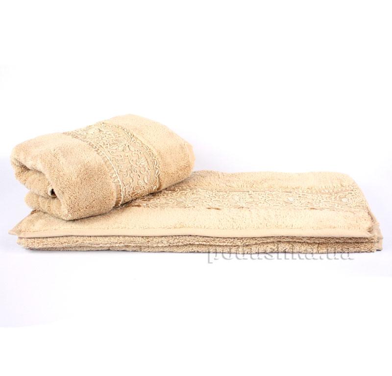 Полотенце махровое Hobby Sidelya-1 50х90 см бежевый Hobby
