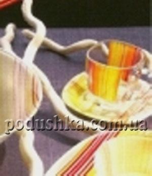 Сервиз Luminarc Carine Strips Orange д/чая 220мл