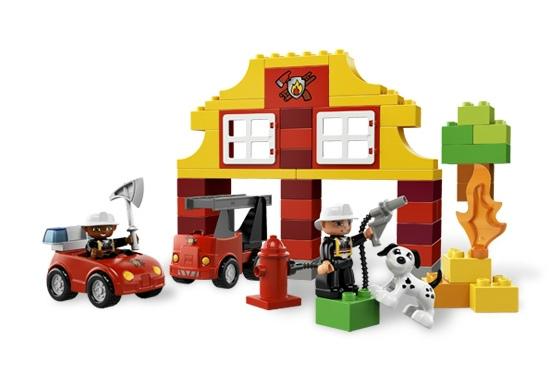 Моя первая пожарная станция