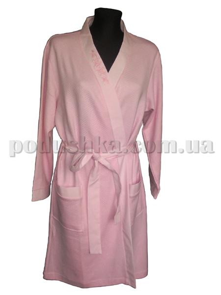 Халат женский короткий Marissabell Dream pink розовый