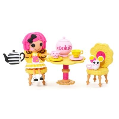 Набор с куклой Minilalaloopsy - Веселое чаепитие
