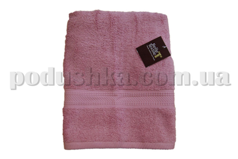 Полотенце махровое Belle-Textile Classic Soft темно-розовое