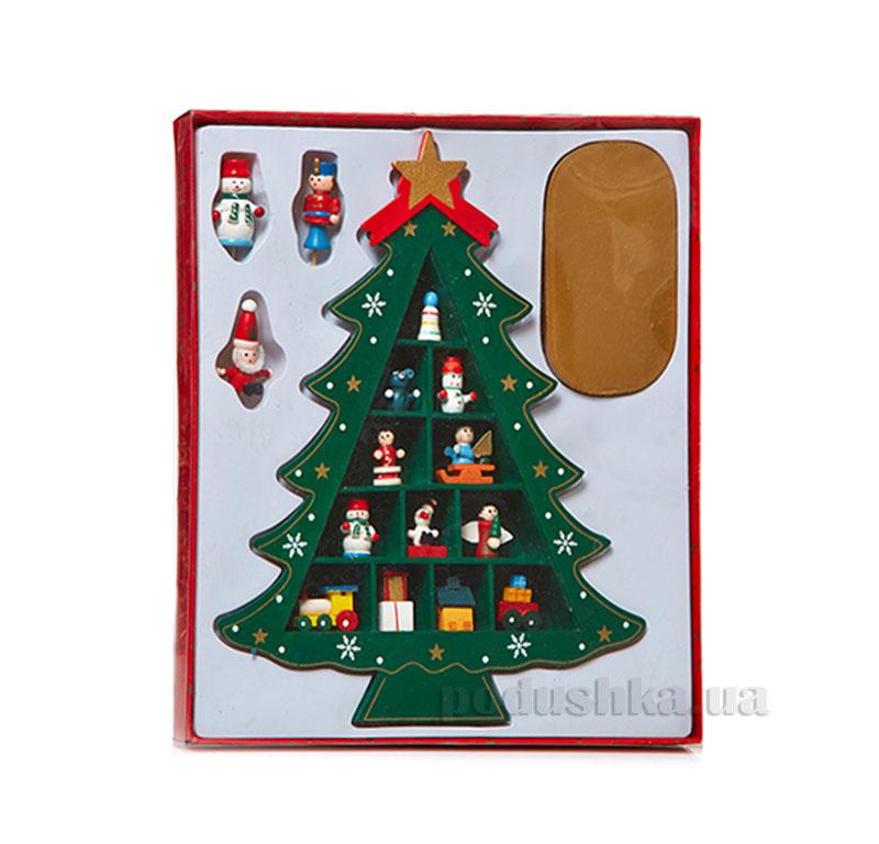 Декоративная Елочка из дерева 060894