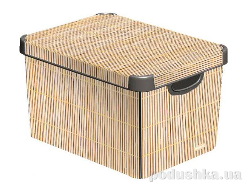 Декоративная коробка бамбук Curver 04710