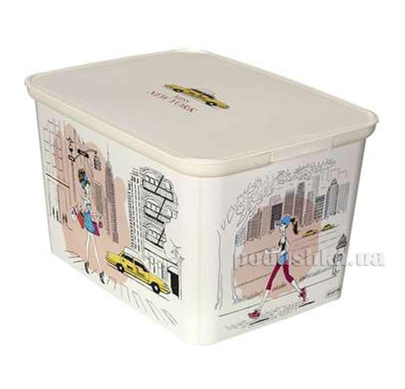 Декоративная коробка L Curver Amsterdam 04730