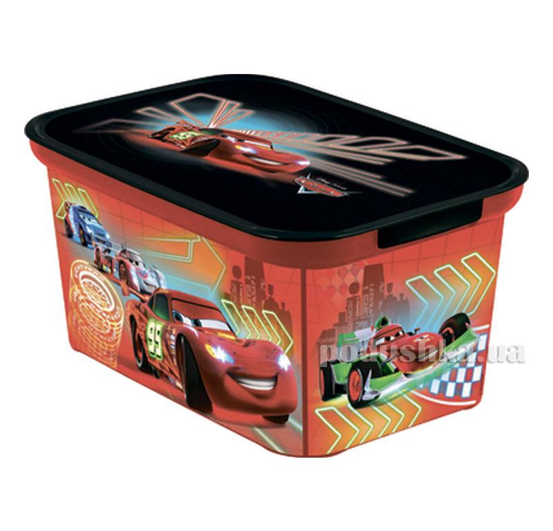 Декоративная коробка S Curver Amsterdam Тачки 04729-С