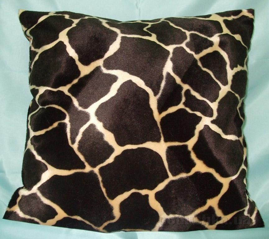 Декоративная меховая подушка Lodex Черепашка