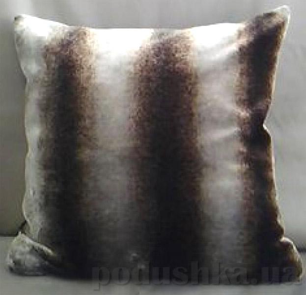 Декоративная меховая подушка Lodex Шиншила