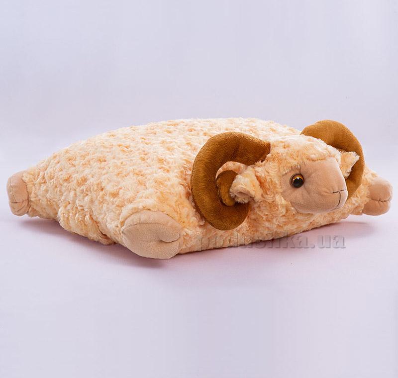 Декоративная подушка-игрушка Баранчик Копица