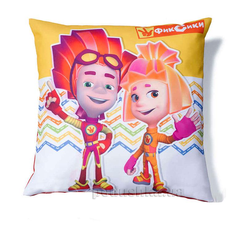Декоративная подушка Файер и Симка Zironka