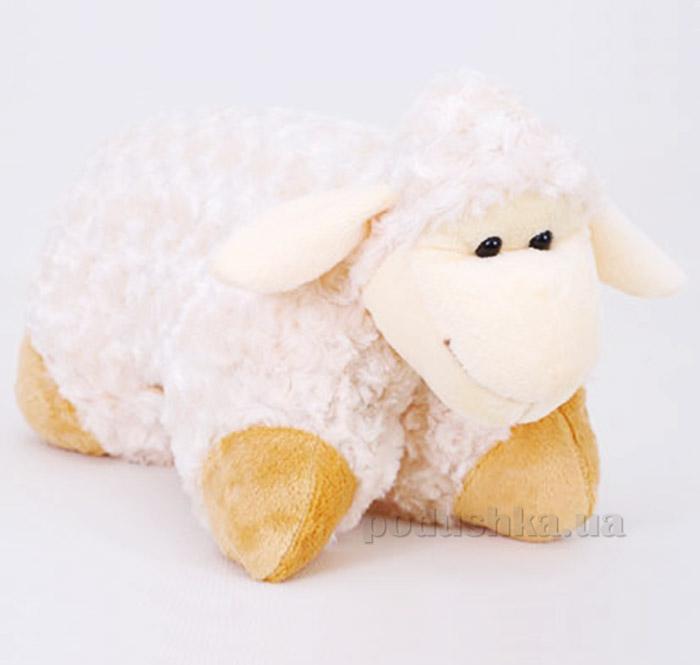 Декоративная подушка овечка Белла Копица бежевая