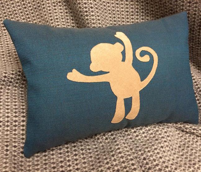 Декоративная подушка Pillow Design Обезьянка