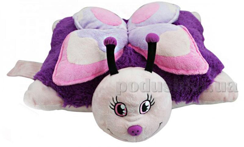 Декоративная подушка Розовая бабочка Pillow Pets