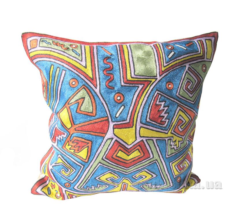Декоративная подушка ручной работы Абстракция