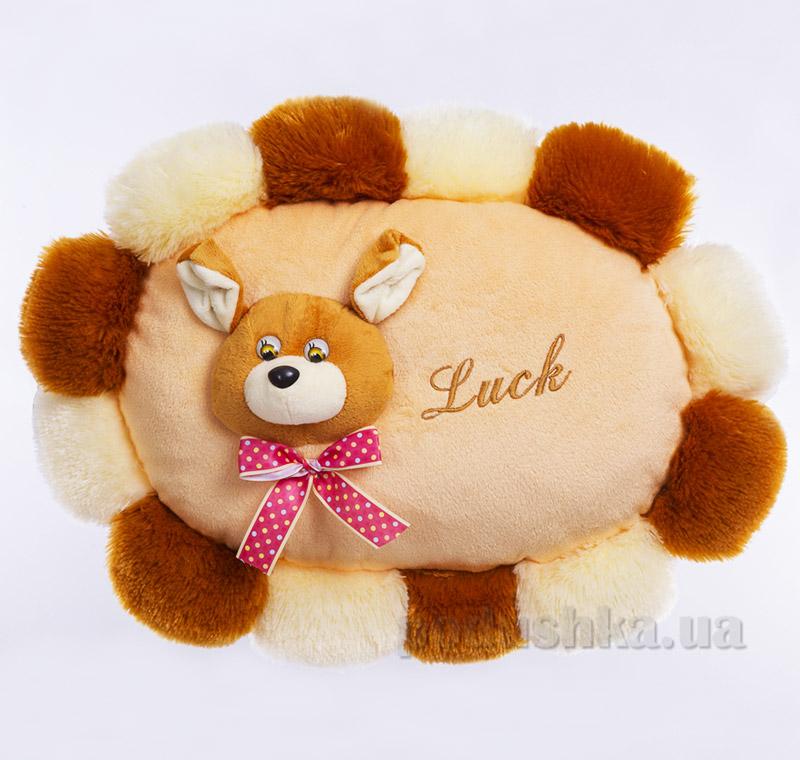 Декоративная подушка собачка Luck Копица 00235-92