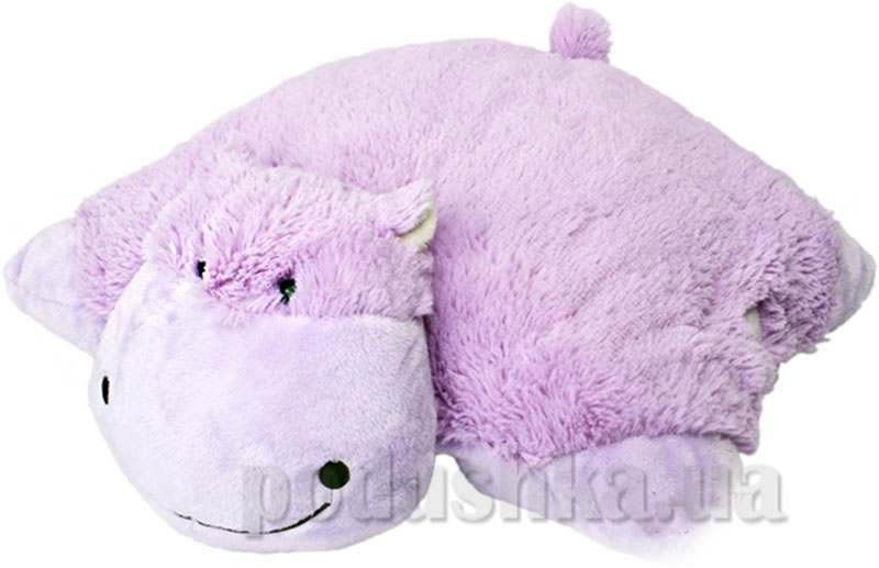 Декоративная подушка Забавный гиппопотам Pillow Pets