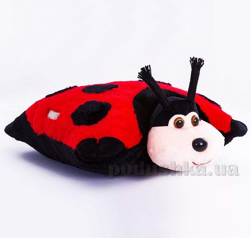 Декоративная подушка-игрушка Божья Коровка Копица 00235-24