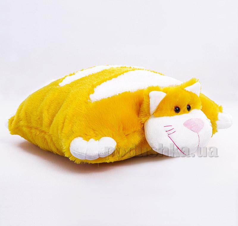 Декоративная подушка-игрушка Котик Копица 00235-6