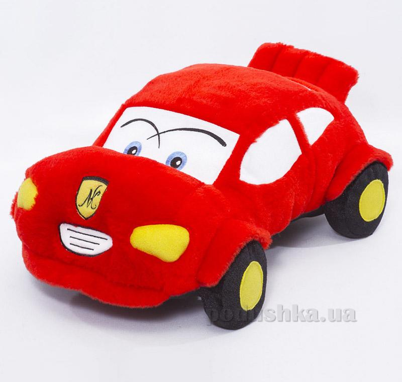 Декоративная подушка-игрушка красная машинка Копица 00661