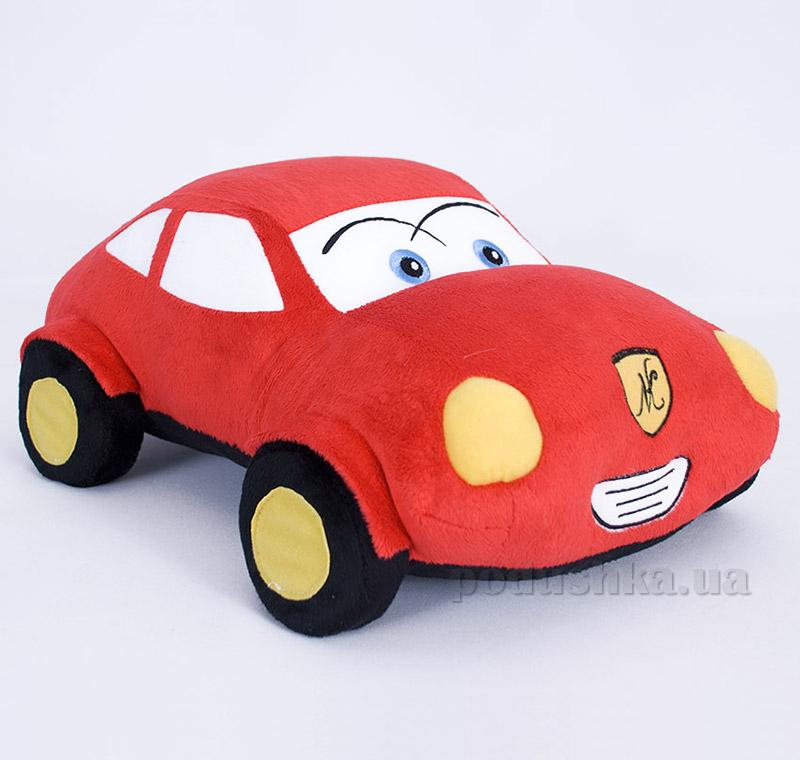 Декоративная подушка-игрушка красная машинка Копица 00662