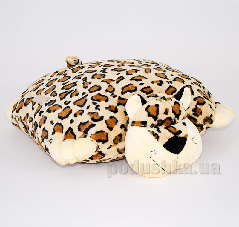 Декоративная подушка-игрушка Леопард Копица 00235-27