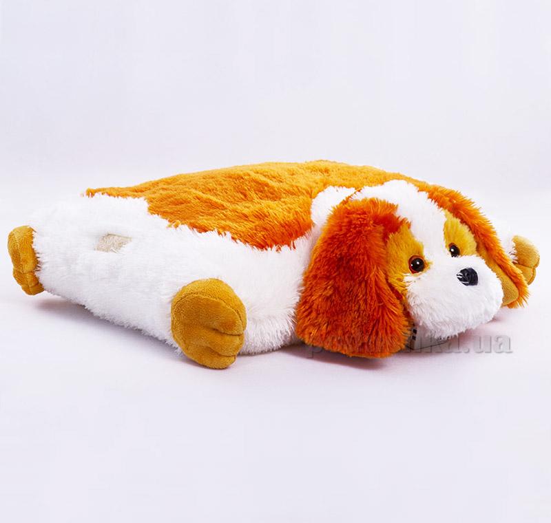 Декоративная подушка-игрушка Сенбернар Копица 00235-28