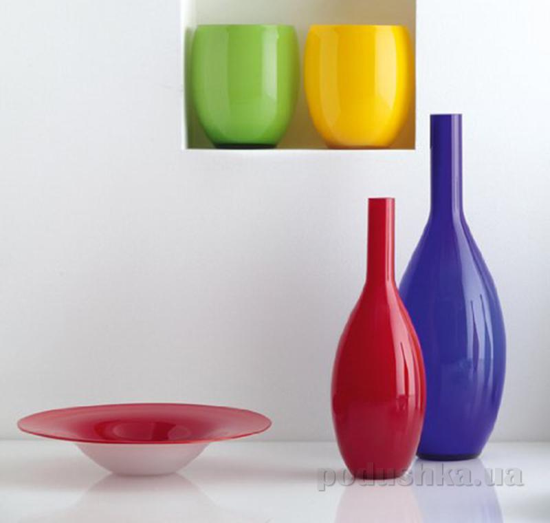 Декоративная ваза Beauty Leonardo красная