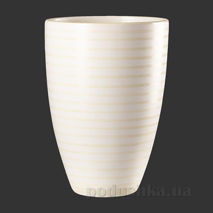 Декоративная ваза Cube Asa selection 22 см кремовая