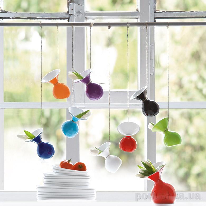 Декоративная ваза Lu Lu Asa selection красная