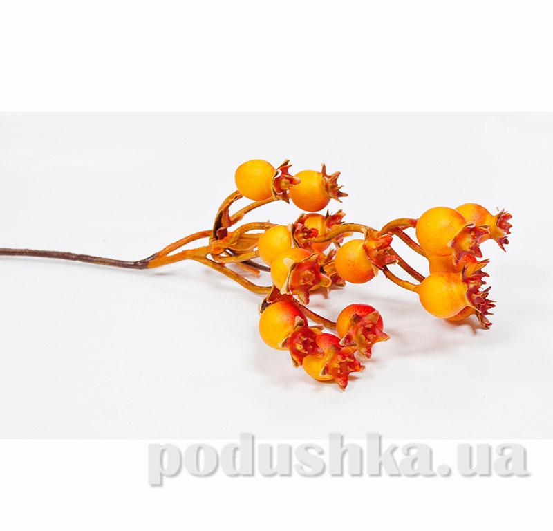 Декоративные ягоды оранжевые Новогодько 972349