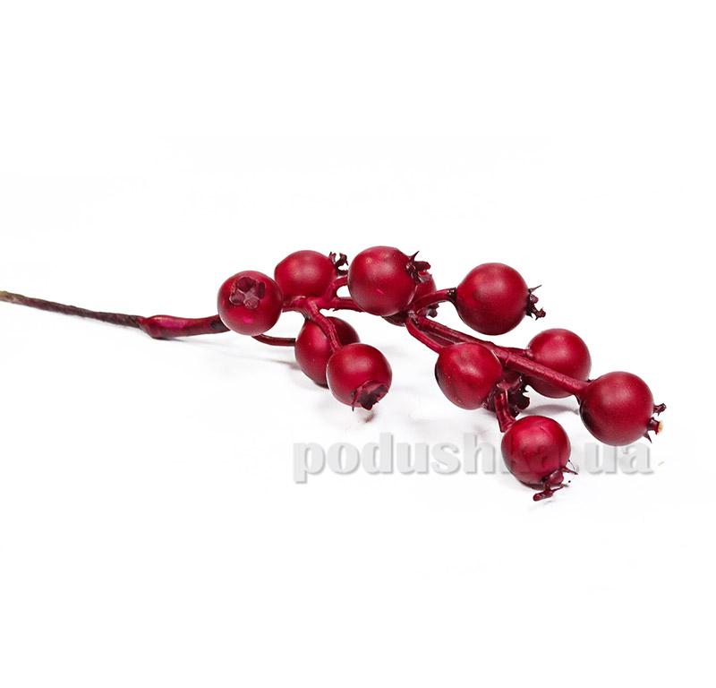 Декоративные ягоды шиповник красный Новогодько 972337