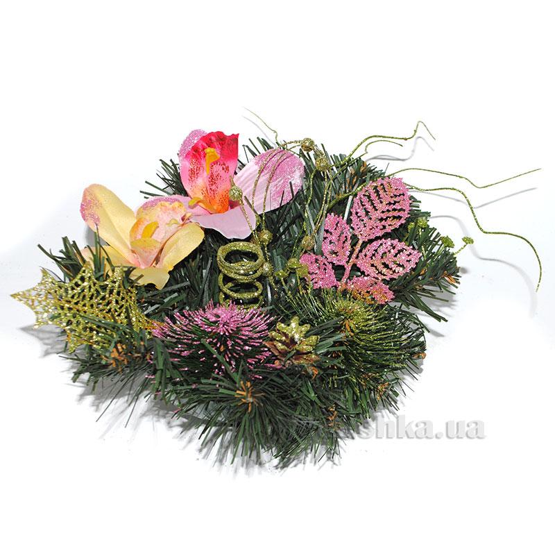 Декоративный подсвечник Орхидея Лоза и Керамика