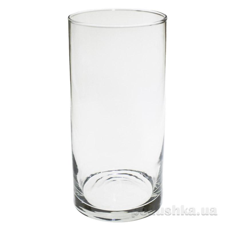 Декоративная ваза цилиндр Flora Pasabahce 43846
