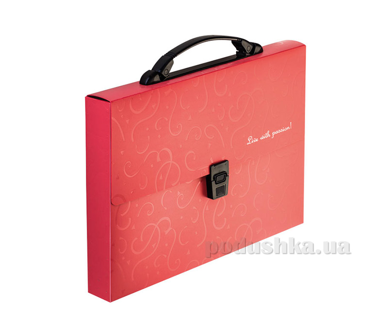 Деловая папка-портфель Buromax Red&Black BM.3718