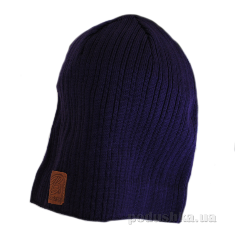 Демисезонная шапка Бабасик Ден-2 фиолетовая