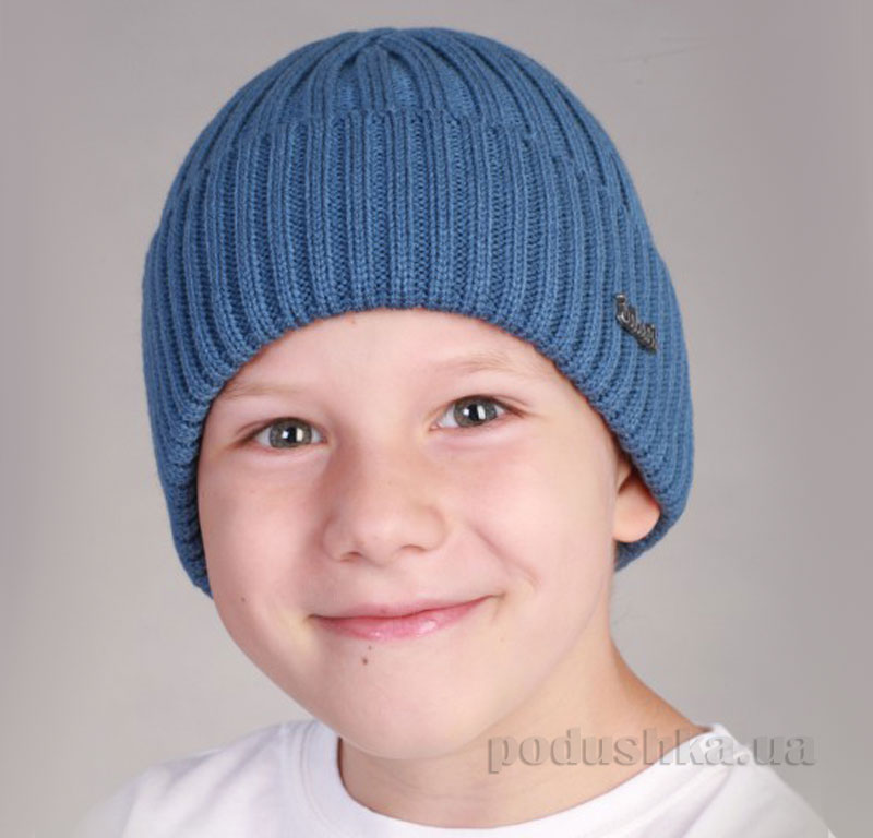 Демисезонная шапка Бабасик Кузьма джинс