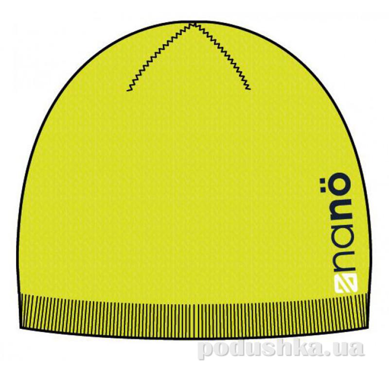 Демисезонная шапка для мальчика Nano 201 TU F14 Neon Green