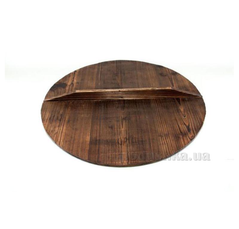 Деревянная крышка  для кастрюль-казанов Gipfel Г2208