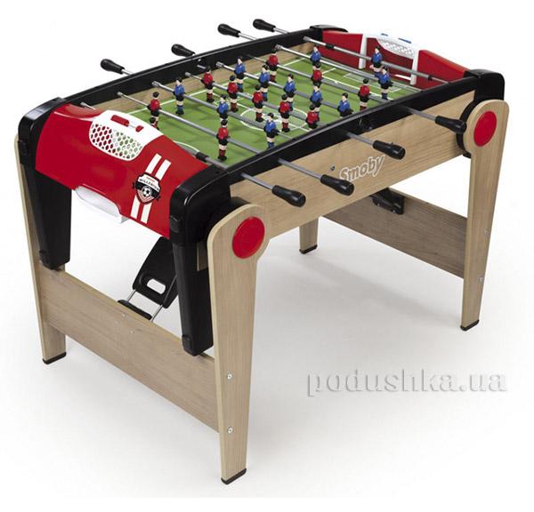 Деревянный полупрофессиональный футбольный стол Millenium сложный Smoby 620500   Smoby