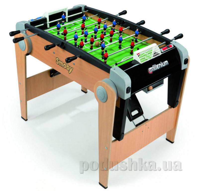 Деревянный полупрофессиональный футбольный стол Millenium Smoby 140024